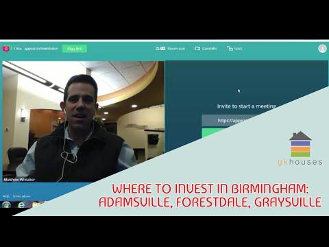 Where To Invest In Birmingham: Adamsville, Forestdale, Graysville