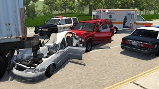 Realistic Car Crashes [2] (With Aftermath) - BeamNG Drive •Notsofancygames