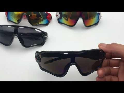 óculos de sol ciclismo troca lentes proteção uv - 3 lentes. Carregando zoom. 1b0d037270