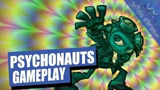 Psychonauts: hora y media de loco plataformeo 3D al estilo Double Fine