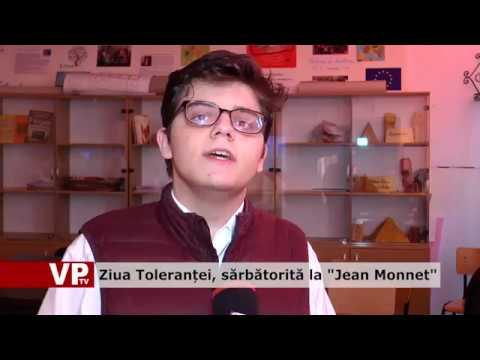 """Ziua Toleranței, sărbătorită la """"Jean Monnet"""""""