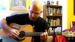 """Me Playing """"32 Flavors"""" by Ani DiFranco"""