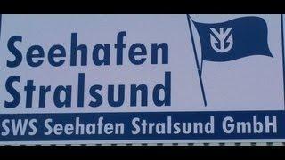 preview picture of video 'Hansestadt Stralsund Seehafen Hafen - auch Urlaub und Erholung Entspannung an der schönen Ostsee'
