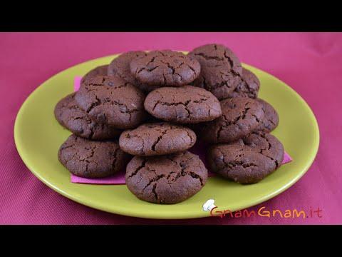 Biscotti al cioccolato - Gnam Gnam