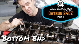 L28 bottom end teardown - Home Built Datsun 240z part 5