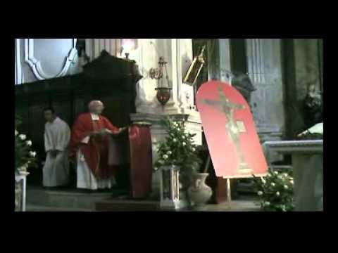 Benedizione e Intronizzazione del quadro Del Crocifisso Dei Pirreri - Termini Im. 14 Settembre 2012