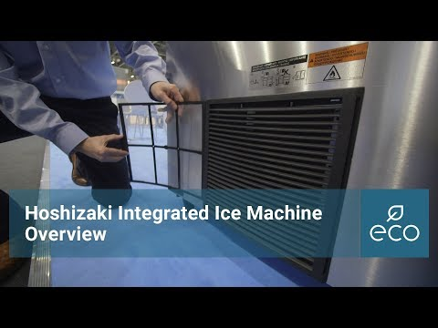Hoshizaki Integrated Ice Machine Overview