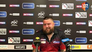 """Michael Smith: """"The minute I listen to someone tell me something negative, I'm going to pack in"""""""