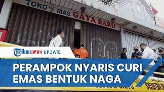 Toko Emas Wilayah Bandung Dirampok, Pelaku Gagal Gondol Emas Bentuk Naga, Ada 1 Korban Tewas