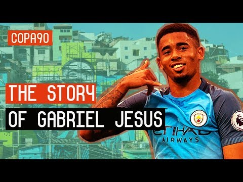 From Favela to Superstar | The Story Of Gabriel Jesus