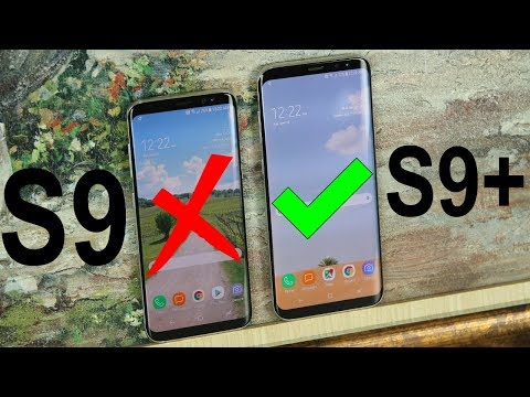 Galaxy S9 vs Galaxy S9+ Plus: Choose The Right One or Regret Your Decision