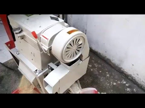 Rice Huller with Polisher 250 kgs per hour