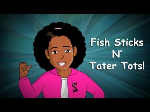 Shayda Brown - Fish Sticks n' Tater Tots (Music Video)