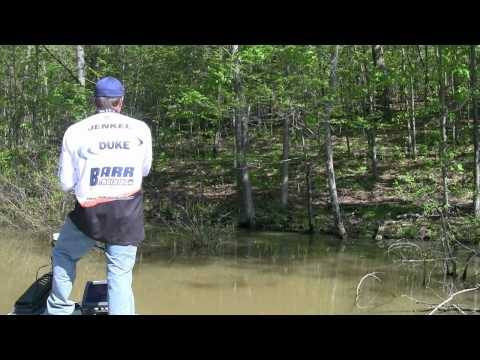 Bass Fishing High Muddy Waters