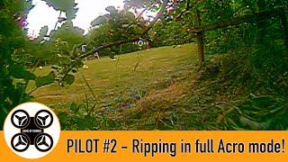 Game of Drones, Pilot #2 FPV - Full Acro mode in our TinyHawk 2.