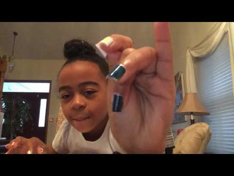 Diy:fake nails with a straw ???? (Must watch)