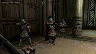 Taking over whiterun with an army (Skyrim) (no follower limit mod)