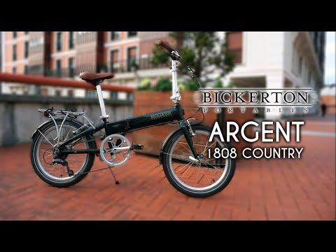Tu bici plegable para la ciudad, Bickerton Argent 1808 Country