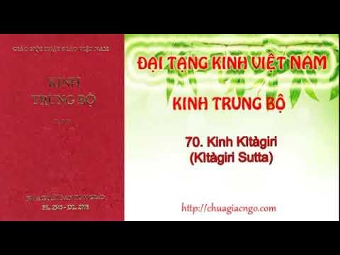 Kinh Trung Bộ - 070. Kinh Kitagiri