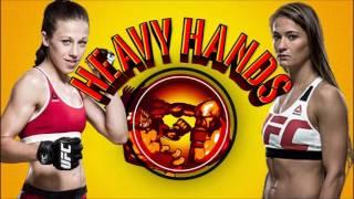 Joanna Jedrzejczyk vs Karolina Kowalkiewicz analysis (Heavy Hands #130)