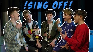 Sing Off (BOYBAND) Ed Sheeran & Justin Bieber   I Don't Care