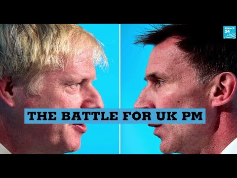 Hunt vs Johnson: The battle for UK PM