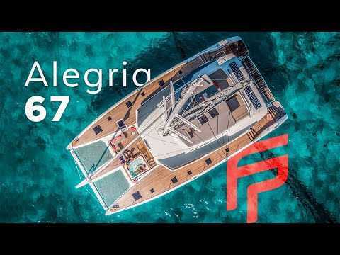 Fountaine Pajot Catamaran Alegria 67video