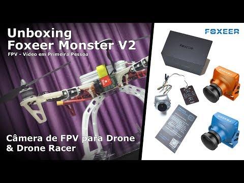 Unboxing Foxeer Mosnter V2 [PT]