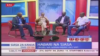 Siasa za Kanda : Habari na siasa sehemu ya kwanza