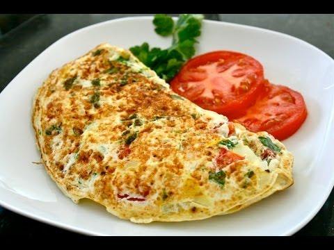 Aprenda a fazer uma rápida omelete de ovo