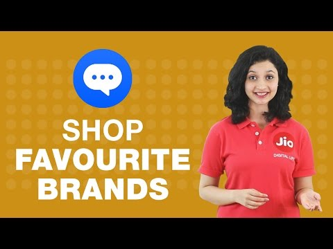 How to shop from your favorite brands on JioChat?
