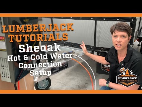 Sheoak Hot & Cold Water Connection