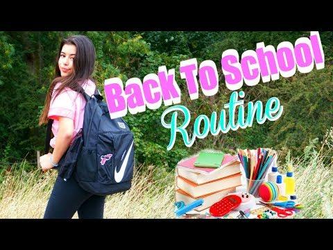 Back To School Routine | Sophia Grace | AD