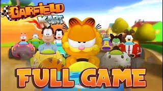 Garfield Kart FULL GAME Gameplay Longplay (PC) All Cups