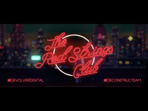 The Red Strings Club - Reveal Trailer thumbnail