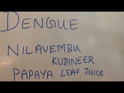 Dengue.. Must drink NILAVEMBU KASHAYAM