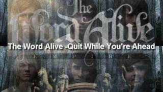 """The Word Alive-Quit While You're Ahead + Download LINK - [ NEW ALBUM """"EMPIRE""""]"""
