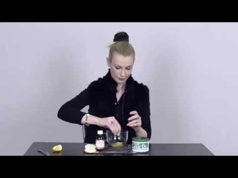 Maska do włosów olej roślinny miód