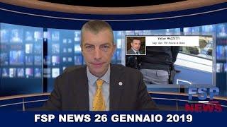 FSP News del 26 gennaio 2019