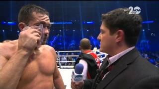 Интервю на Кубрат Пулев след загубата му от Владимир Кличко