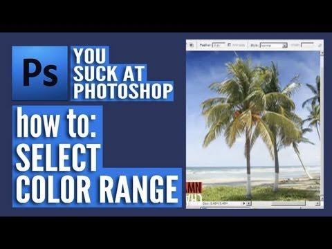 Výběr škály barev