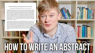 How to write an Abstract | Essay Tips