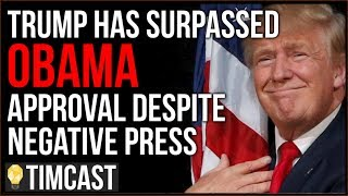Trump Has SURPASSED Obama Approval Despite 92% Negative Press, Democrats FLIPPING Republican