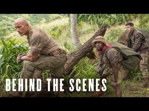 Jumanji: Welcome to the Jungle Behind the Scenes 'Fridge'