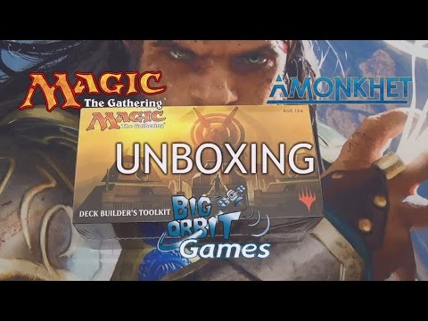 Magic The Gathering: Amonkhet Deck Builder's Toolkit Unboxing Mp3
