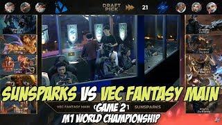 Sunsparks Vs Vec Fantasy Main Game 2 M1