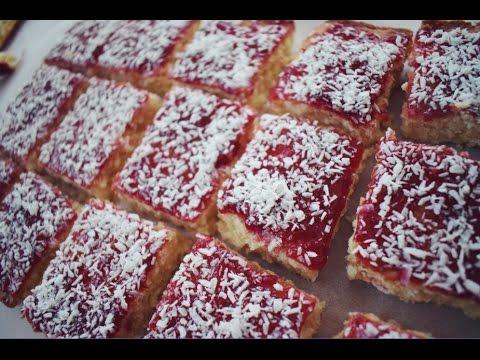 Video Back to School Bakes | Jam Coconut Sponge | Baking with Beth