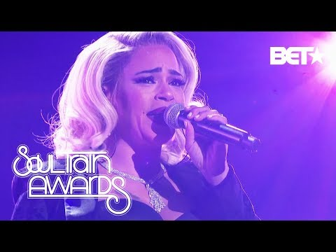 Faith Evans The First Lady Of Bad Boy Shows Why She's Our Lady Of Soul | Soul Train Awards 2018