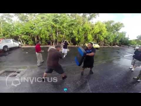 ASP Baton, Handcuffing & OC Spay Training - YouTube