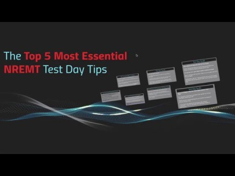 Top 5 Most Essential NREMT Study Tips - EMTprep.com